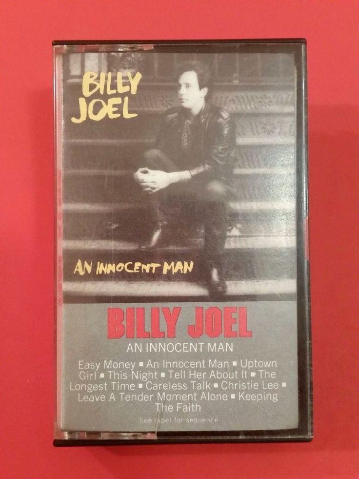 Billy Joel An Innocent Man Cassette Tape 1983 80's UPTOWN GIRL Pianist Music #Vocal