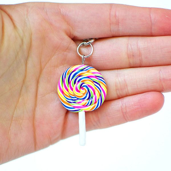 Lollipop Swirl Necklace – Shelfies - Outrageous Clothing