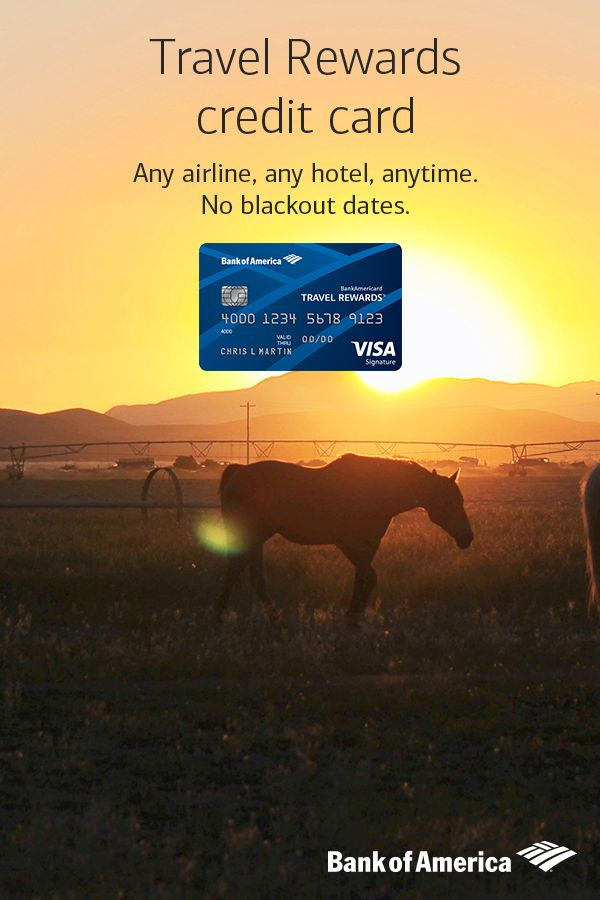 Book your next odyssey with the Travel Rewards credit card. Any airline, any hotel, anytime. No blackout dates. Plus, earn 1.5 points for every $1 spent on purchases.
