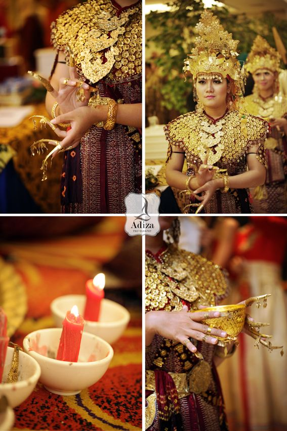 South Sumatra traditional dancer