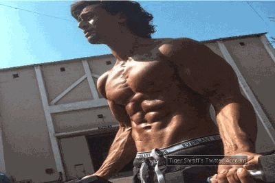 Tiger Shroff sweating hard for 'Baaghi'