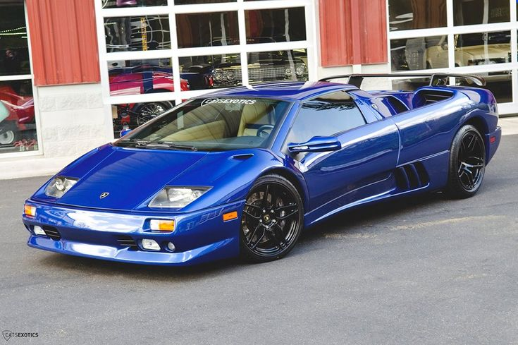 Blue Flake Metallic Lamborghini Diablo Roadster For Sale With 15k Miles Hummer Pinterest