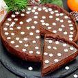 """Мега-шоколадный тарт """"С Новым Годом"""" - кулинарный рецепт"""