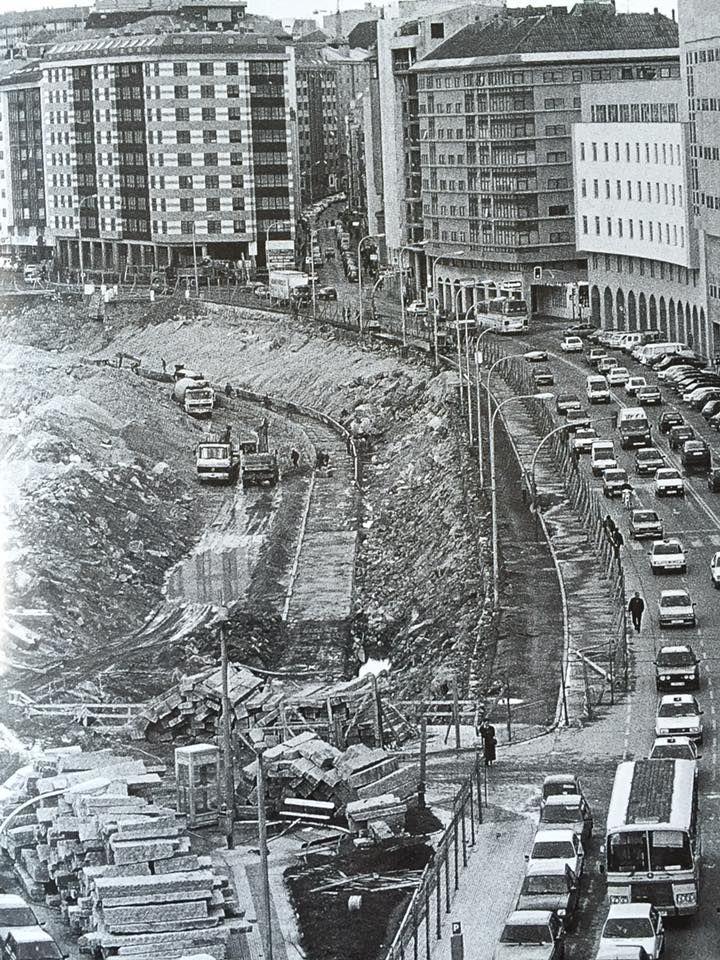 CONSTRUCCION PARKING Y PASEO MARITIMO,AÑO 1.991