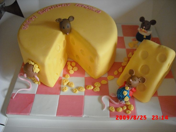 10 Best Images About Cheese And Mice Cakes On Pinterest