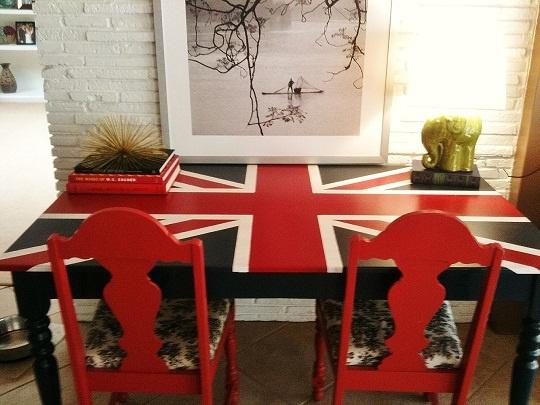 British flag desk re-do