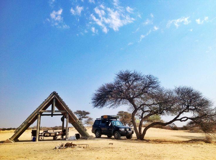 Mabuasehube Pan, Botswana