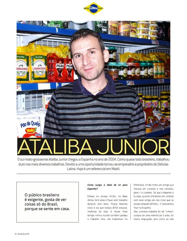 Matéria na Revista Brazil com Z // www.deliciaslatina.es