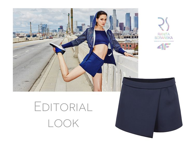 Spodobała Ci się stylizacja modelki z sesji wizerunkowej RSx4F? Wybierz praktyczne spódnico-spodenki i stwórz własną wersję sportowej elegancji!