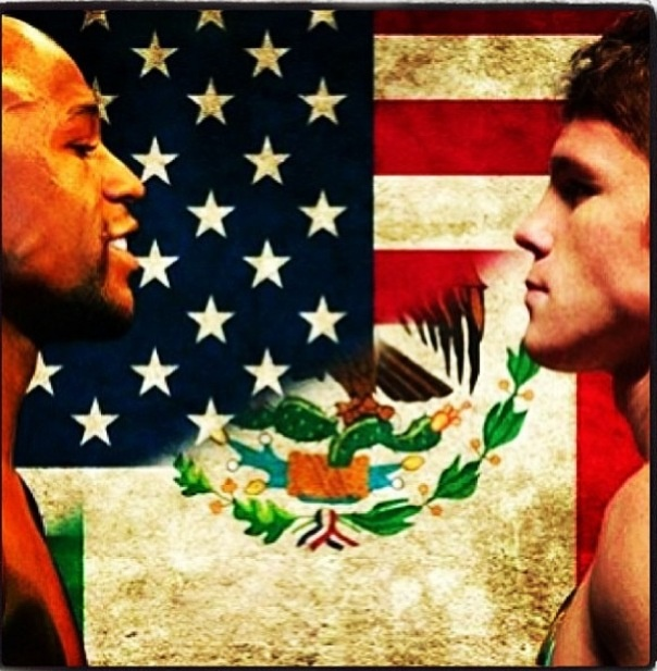 Floyd Money Mayweather Jr. Vs Saul Canelo Alvarez, I'd been waiting for this fight, for about a year now. Im hella excited!