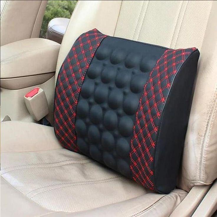Car back massager vibrating car seat cushion back pillow