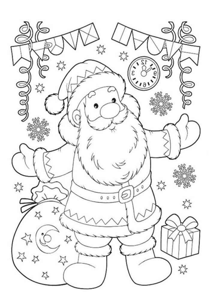 Free Printable Santa Coloring Pages For Kids Free Christmas Coloring Pages Santa Coloring Pages Christmas Coloring Sheets