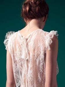 {Look de mariée} 10 robes de mariée dos transparent - Robe Meryl Suissa