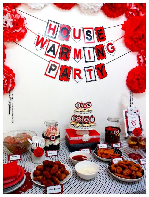 housewarming theme parties | Tres Chic The Party Planner: HOUSEWARMING PARTY