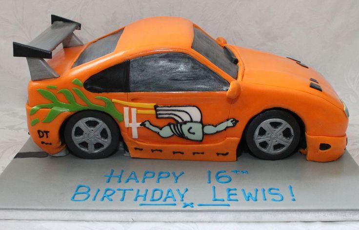 https://flic.kr/p/JocJXW | The Fast and The Furious Car birthday cake!!