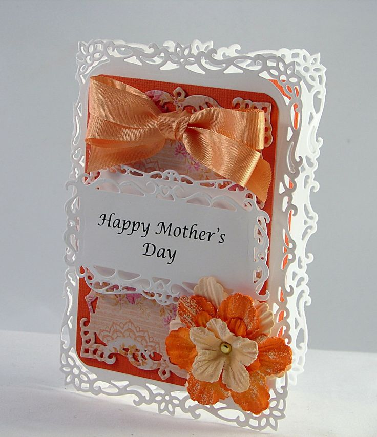 Card Making Ideas Using Dies Part - 49: Mothers Day Card Using Spellbinders Die Cuts By Theresa Calderini
