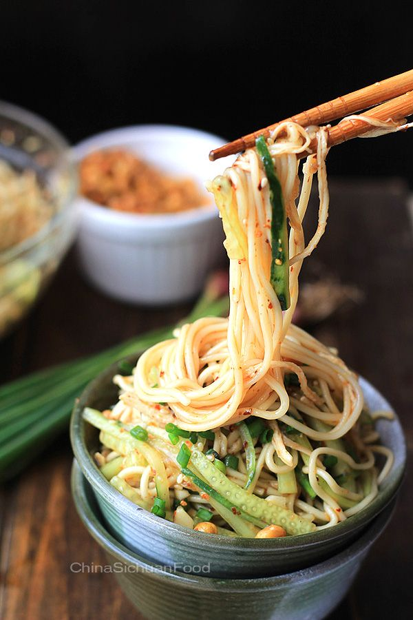 Chicken Noodle Salad - Sichuan Style