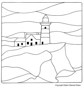 Free Lighthouse PatternStained Glass Quilt Pattern, Stained Glass Patterns, Glasses Lighthouses, Lighthouses Pattern, Google Search, Glasses Pattern, Con Google, Pattern Stained, Stained Glasses