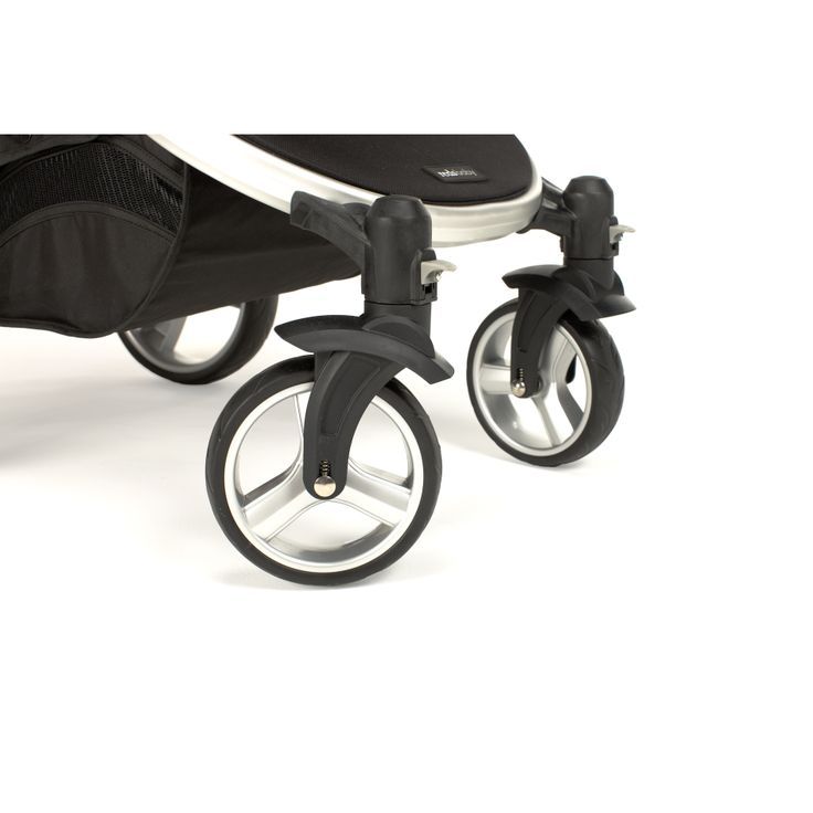 Redsbaby Bounce - The Ultimate All-In-One Stroller/ Pram www.redsbaby.com.au Front locking swivel wheels for stability on uneven terrain and long distances