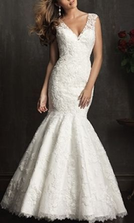 Allure bridals 9056 wedding dress currently for sale at 50 for Preowned wedding dresses for sale
