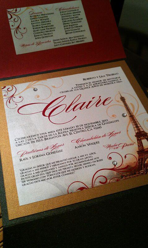 298 best images about quince ideas for angela on pinterest - Salon des seniors paris invitation ...