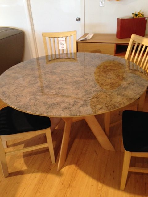 Iron Batik Patterned Paper Has Been Laminated Between Two Pieces Of  Ultraclear Glass To Create A One Of A Kind Dining Table Top.