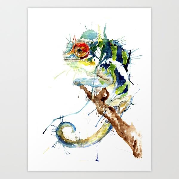 Chameleon Tattoo Designs Drawings: 61 Best Chameleon Images On Pinterest