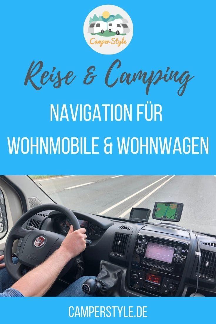 Navigation für Wohnmobile und Wohnwagen in 10  Wohnwagen