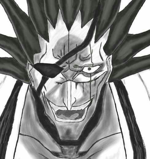 Kenpachi, anime, manga, crazy man