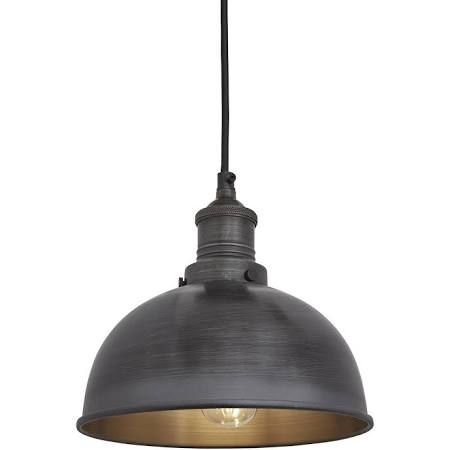 grey lamp shade bedroom industrial style - Google Search