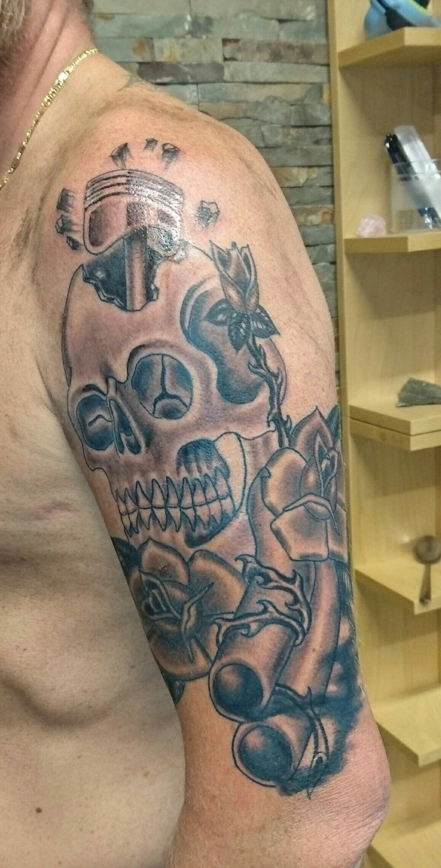 Av av avenged sevenfold tattoo designs - Godt Forn Yd Med Resultatet Utf Rt Av Ole Hos Empire Tattoo