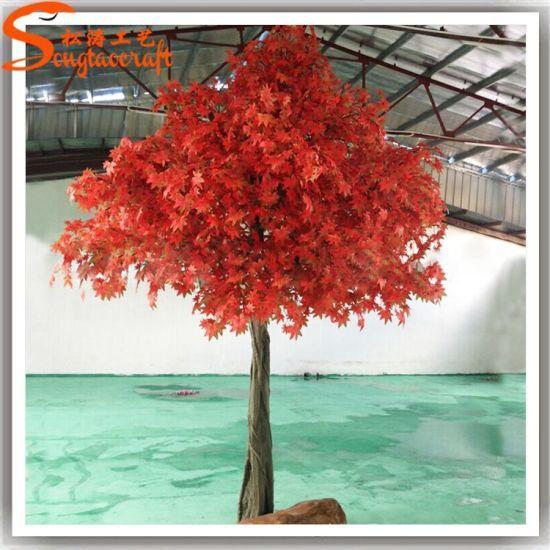 Home Decoration Plastic Fake Artificial Maple Tree Maple Trees Types Red Maple Tree Maple Tree