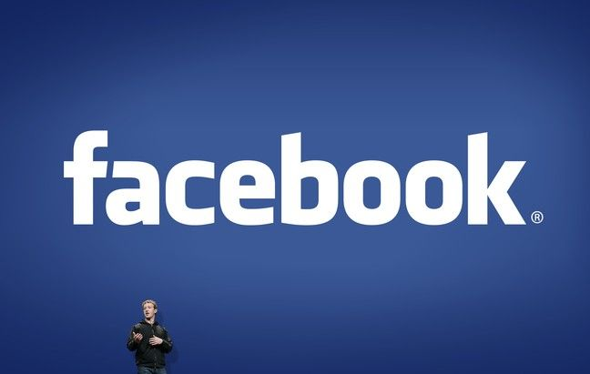 Who created the Facebook logo?