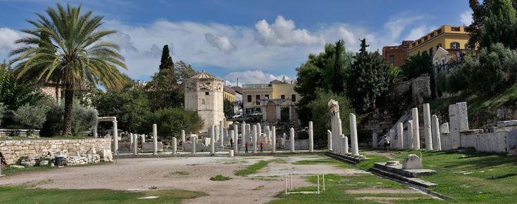 The Ancient Agora of Athens from another angle