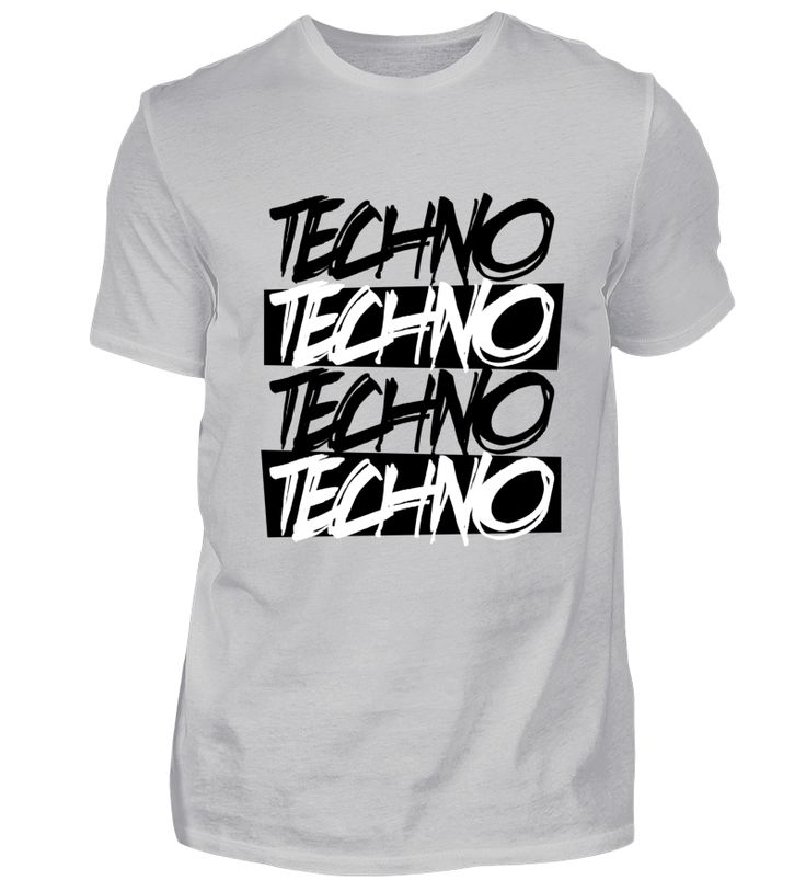 Techno T Shirt Minimal Techno Goa Festival