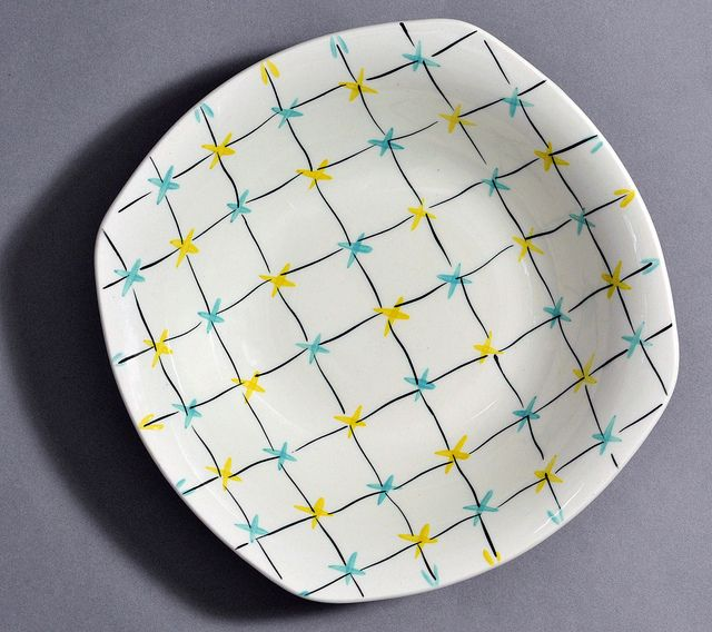 'Crossnet' by Jessie Tait for Midwinter Pottery by robmcrorie, via Flickr