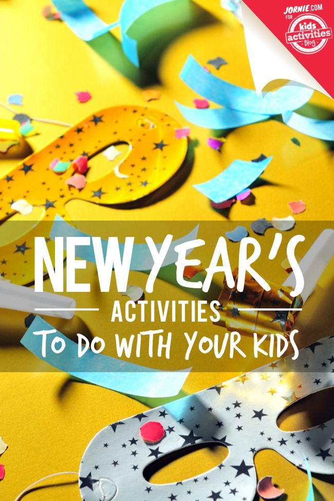 An awesome list of activities for the new year! #newyear #2017 #funactivities