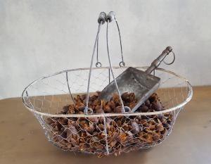 Bakuli naturel grote zak decoratie materiaal - 5252570003294 - Avantius