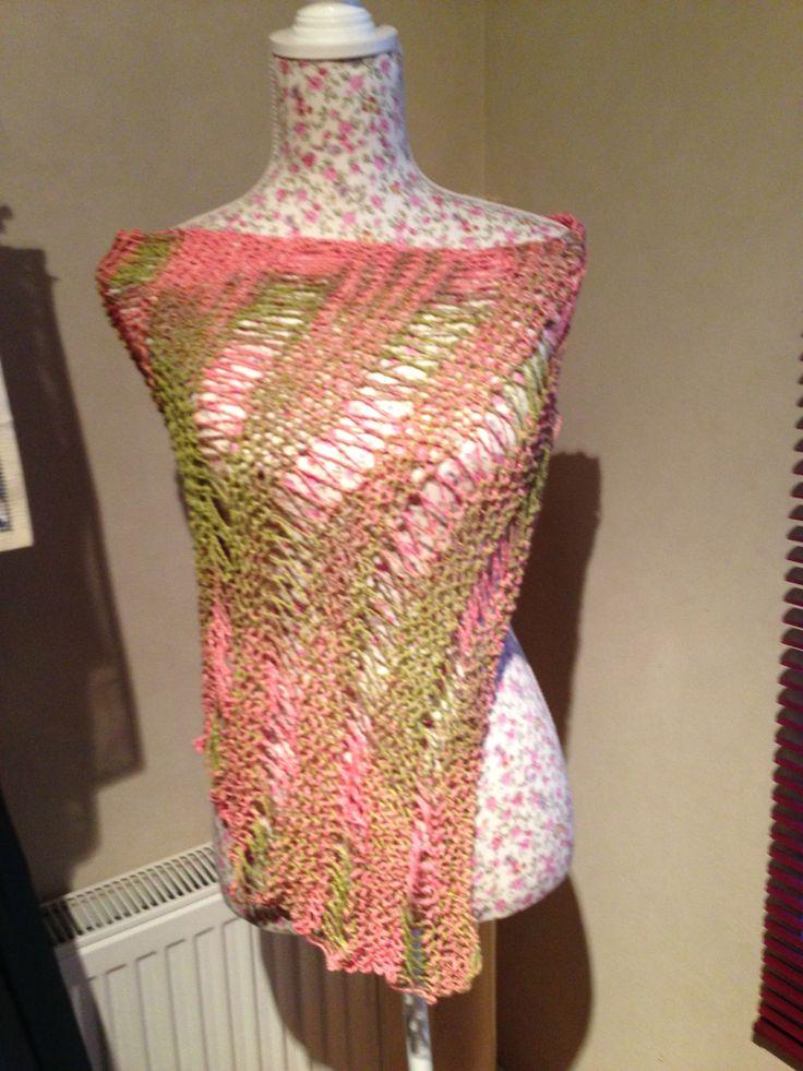 Tapado hilo algodón tejido