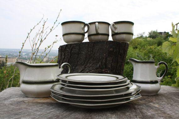 Tea Set Tea Cups Bavaria Winterling Kirchenlamitz Coffee by Diamir