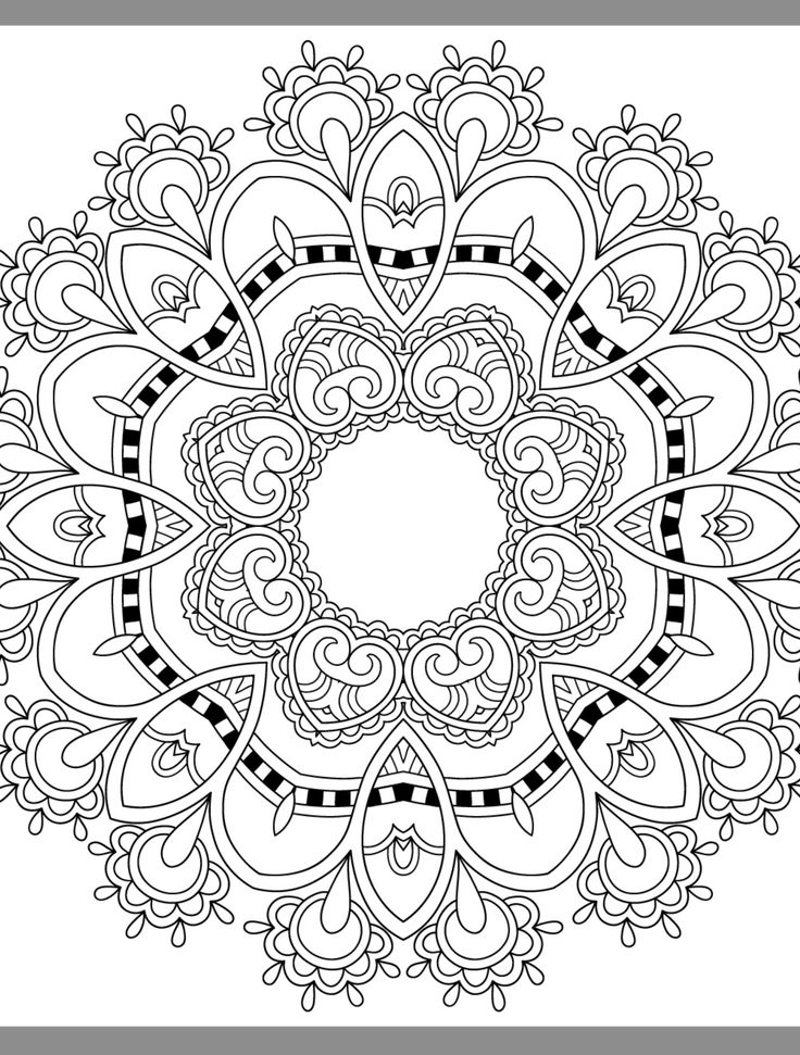 446 best Printable Flowers pattern images on Pinterest Coloring