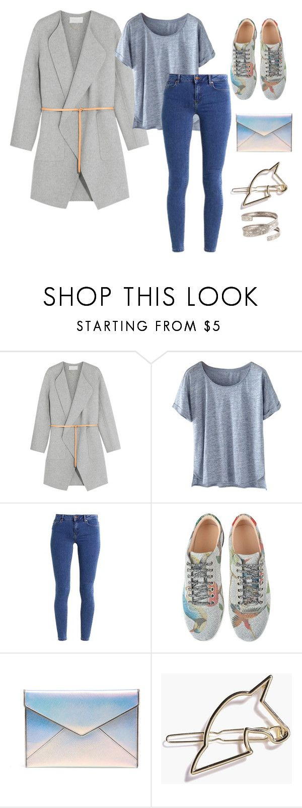 """""""⚙️🗝🛒"""" by aracely-martinez ❤ liked on Polyvore featuring Vanessa Bruno, Wrap, even&odd, Gucci, Rebecca Minkoff and Boohoo"""