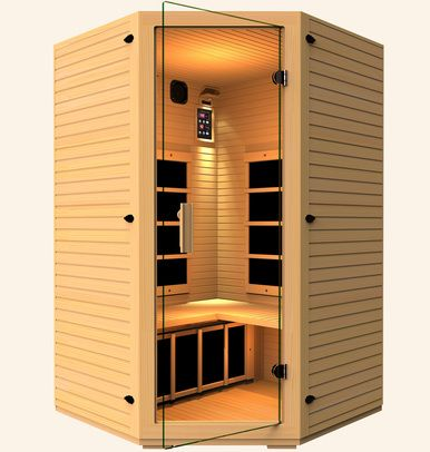 Discover our 2-3 person Corner Vivo Far Infrared Sauna comes with Five (5) Ultra Low EMF Carbon Fiber Far Infrared Heaters. Established since 2007, JNH Lifestyles strives to give you the best product at an affordable price so that you can live a long healthy life. Our lifetime technical support is just one of the many benefits that come with our standard warranty. With our no tool assembly, you are able to enjoy your own personal sauna in 60 min or less. JNH Lifestyles far infrared saunas…