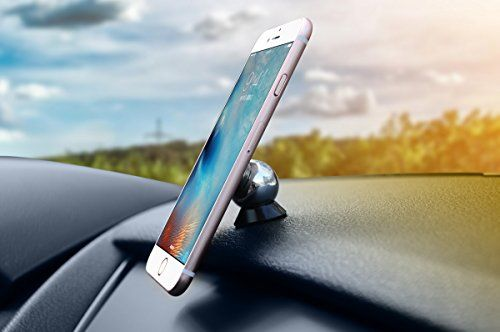 wekin 360°Cell Phone Car Mount/ Magnetic Cell Phone Holder/ Car Mount Phone Holder/Phone plane Holder for iphone 6s 5se Samsung Galaxy s7 s6edge not5 and more (black)  Car Mount 35mm, is designed for all phone sizes, The magnet plan is made by aluminium alloy with very good finish. It is a decoration besides a car mount.     Product packaging   1 Detachable magnetic disk, gives you a choice to keep the magnet at the back of your device  2 metallic phone plates (including 1 bigger pla..
