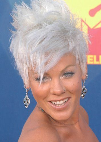 White colored hair