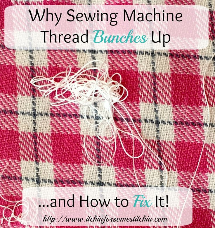 Best ideas about sewing machine tension on pinterest