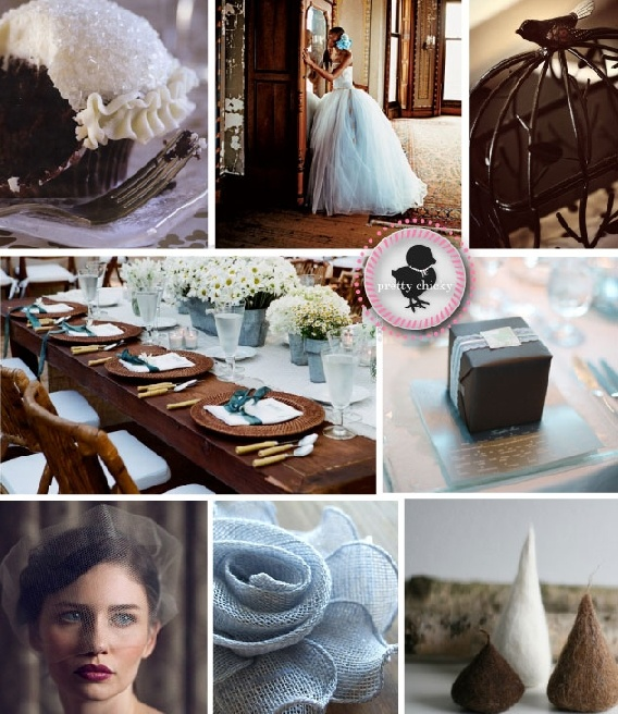 63 Best Images About Brown & Blue Wedding On Pinterest