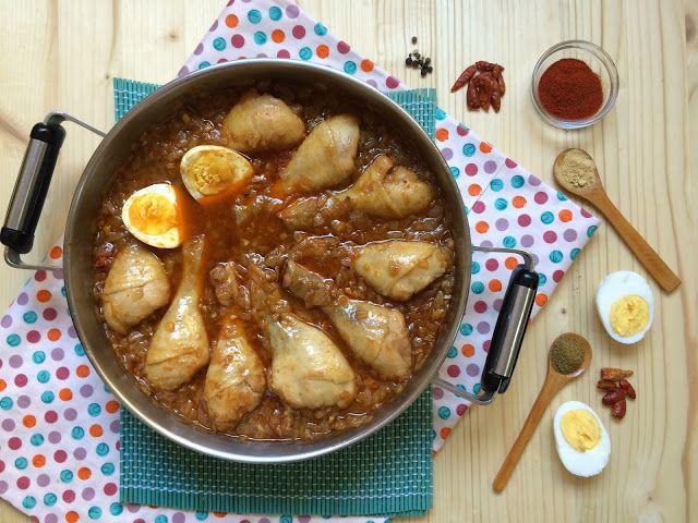 Mrmlada: Doro wat (pollo picante al estilo etíope). Viaje entre sabores