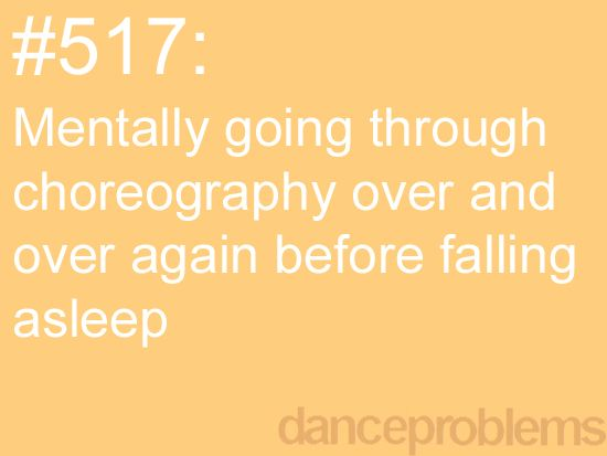 And still being able to remember that choreography years later because of it