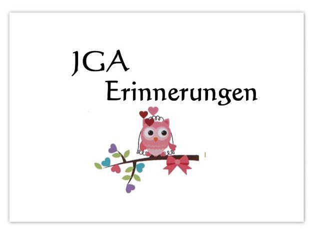 Erinnerungskarten JGA